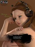 AZOURY - Nahum Headphone [Brown]