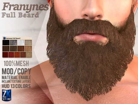 ZK - Franynes Full Beard