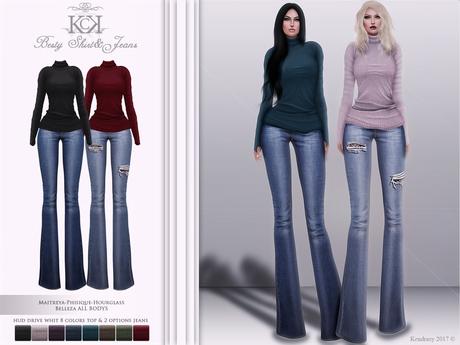:::KC::: Besty Shirt&Jeans