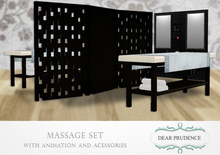 .:: DEAR PRUDENCE ::. Massage Set