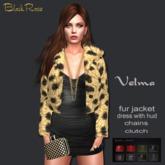 BlackRose Velma Fur Outfit Spot Brown