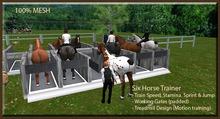 (6) Six Horse Trainer (ABC Horses)  [Mesh] Racing
