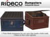 RiDECO - Dumpster