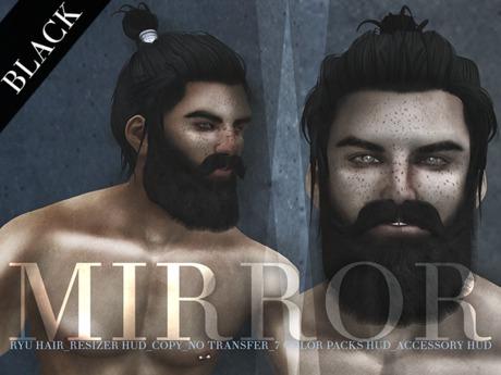 MIRROR - Ryu Hair - Black Pack -