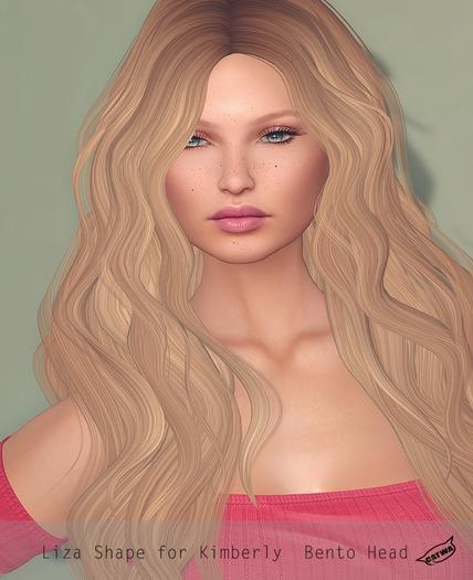 L y r i u m_ Liza Shape (Catwa Kimberly Bento)