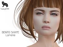 TweetySHAPE ♥ BENTOhead Lorelle shape