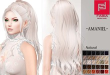 -FABIA- Mesh Hair  <Amaniel> Natural Tones