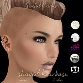 Avada~ Shaved Hairbase