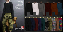 *DEMO*AMRIE M - Looong sleeve knit