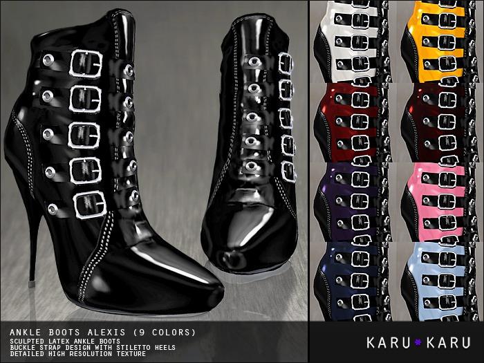 KARU KARU - Ankle Boots Alexis (9 Colors)