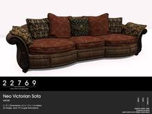 22769 ~ [bauwerk] Neo Victorian Sofa Nature PG