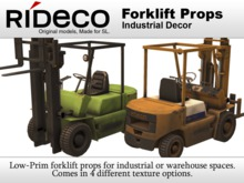 RiDECO - Forklift Props
