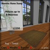 Meeroos Home Tweed Green Rug V3.0 BOXED L250