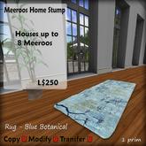 Meeroos Home Blue Rug V3.0 BOXED L250