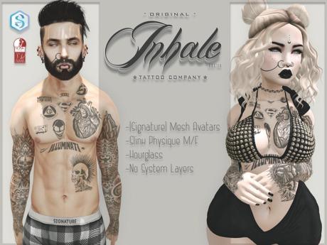 .Inhale. Legacy - (Signature - Slink)
