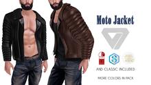 ILLI - [MeshProject,Physique,Signature Gianni,Classic] Moto Jacket (HUD Driven) - PROMO