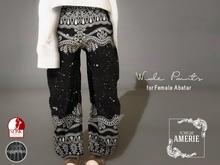 AMERIE - Wide pants(Pat01)