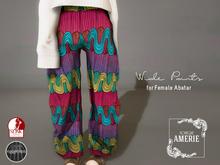 AMERIE - Wide pants(Pat05)