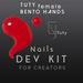 TuTy Bento Hands Dev kit - Nails