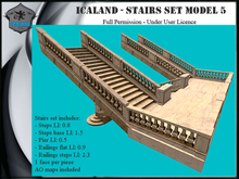 Icaland - Stairs Set Model 5