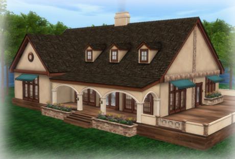 ARCADIA HOUSE PART MESH