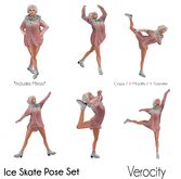 Verocity - Ice Skate Pose Set