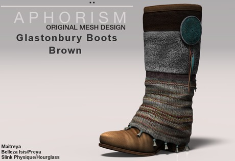!APHORISM! Glastonbury Boots - Brown