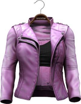 !APHORISM! Easy Rider Jacket Pink - Women