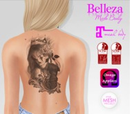 TSB ::: Tattoo woman with rose in hands
