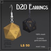 D20 Earrings