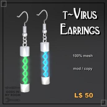 t-Virus Earring