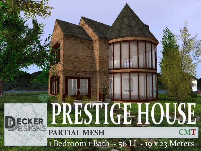 Second Life Marketplace Prestige House
