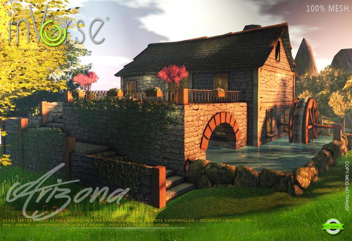 inVerse® MESH - Arizona full furnished  millhouse