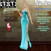 """Giada"" LightBlue Gown  - Fashion Dream"