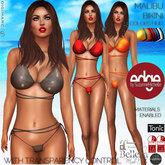 Edge: Malibu Bikini with 15 color HUD & Transparency Control