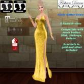 """Giada"" Yellow Gown  - Fashion Dream"