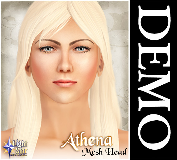 DEMO *LightStar-Mesh Head-Athena-DEMO