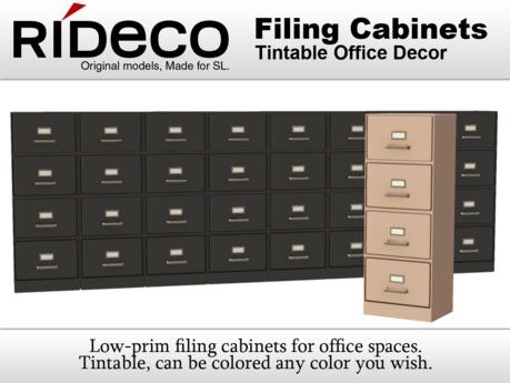 RiDECO - File Cabinets