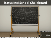[satus Inc] School Chalkboard