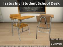 [satus Inc] Student School Desk
