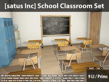 [satus Inc] School Classroom Set