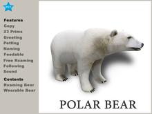 [TomatoPark] Polar Bear Mesh ( Wear + Roaming )