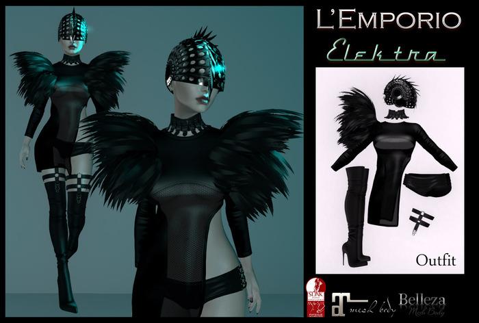L'Emporio ::*Elektra*:: Outfit Maitreya/Slink/Belleza   (Boxed