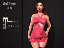 .::.What2Wear.::. Dress Karen - PINK