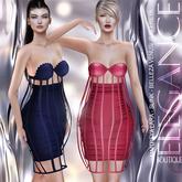 "Elegance Boutique - Skirt & Bra ""Gisa"" -DEMO - Maitreya / Slink / Belleza -Venus - Isis - Freya"