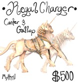 ~Mythril~ Teegle Animations: Regal Charger