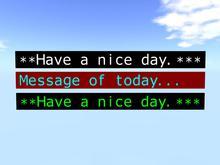 Message Bar / Announcement Board V21