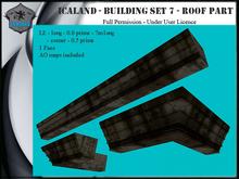 Icaland - Building Set 7 - Roof part