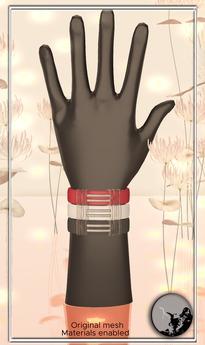 *PC* RAM bracelets-Rubber Set  PRE-RETIRING GIFT