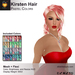 A&A Kirsten Hair Pastel Colors Pack. Mesh + Flexi medium womens hairstyle